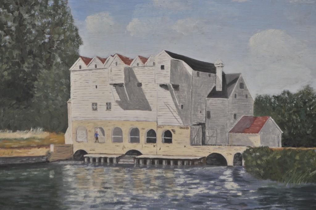 Horstead Mill, oil