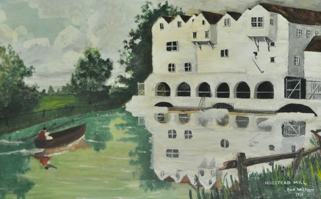 Horstead Mill, Acrylic