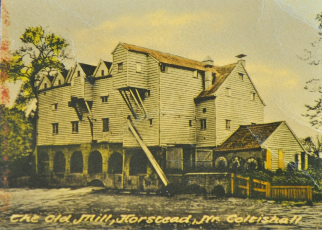 Horstead Mill, post card