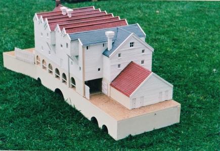 Horstead Mill, model