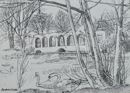 Horstead Mill, sketch
