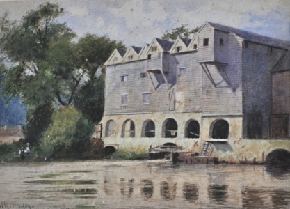 Horstead Mill -water colour
